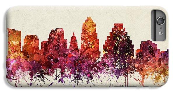 Austin Cityscape 09 IPhone 6 Plus Case by Aged Pixel
