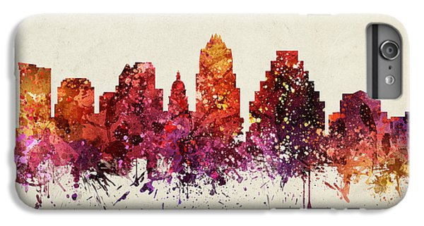 Austin Cityscape 09 IPhone 6 Plus Case by Aged Pixel