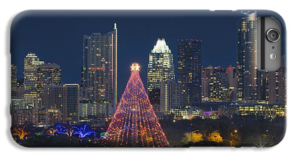 Austin Panorama Of The Trail Of Lights And Skyline IPhone 6 Plus Case