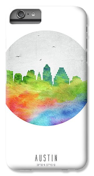Austin Skyline Ustxau20 IPhone 6 Plus Case by Aged Pixel