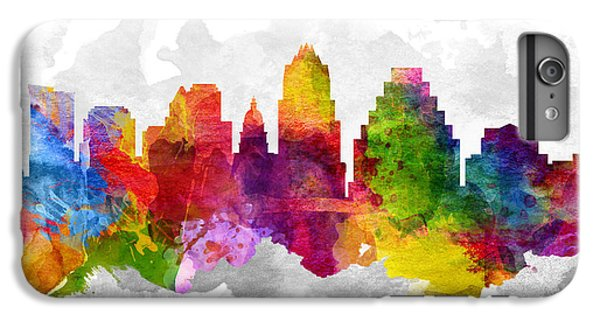 Austin Texas Cityscape 13 IPhone 6 Plus Case by Aged Pixel