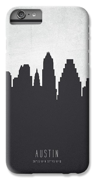Austin Texas Cityscape 19 IPhone 6 Plus Case by Aged Pixel
