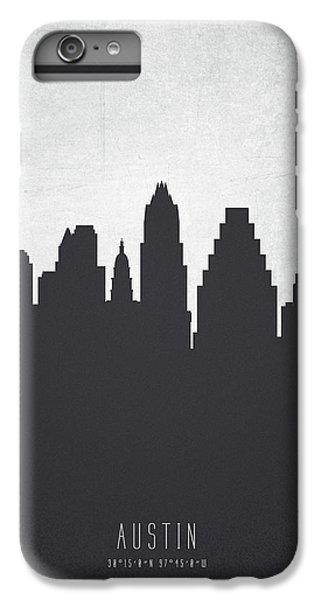 Austin Texas Cityscape 19 IPhone 6 Plus Case by Aged Pixel