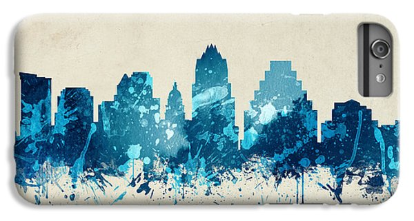 Austin Texas Skyline 20 IPhone 6 Plus Case by Aged Pixel