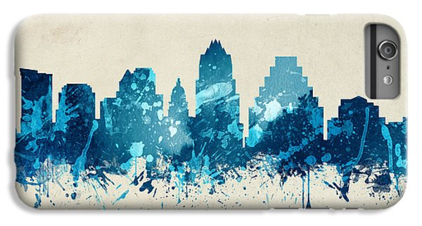 Austin Texas Skyline 20 IPhone 6 Plus Case by Aged Pixel