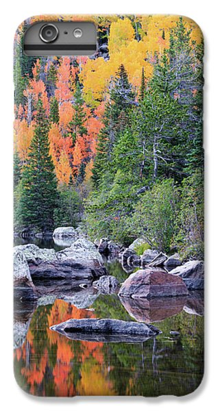 IPhone 6 Plus Case featuring the photograph Autumn At Bear Lake by David Chandler
