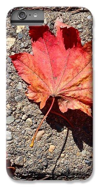 Orange iPhone 6 Plus Case - Autumn Is Here by Blenda Studio