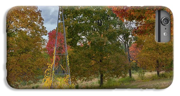 IPhone 6 Plus Case featuring the photograph Autumn Windmill Square by Bill Wakeley