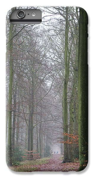 Autumn Woodland Avenue IPhone 6 Plus Case by Gary Eason