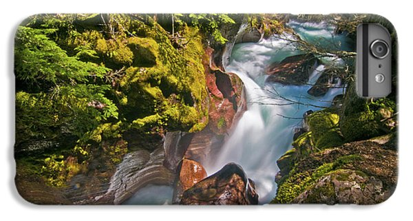 IPhone 6 Plus Case featuring the photograph Avalanche Gorge by Gary Lengyel