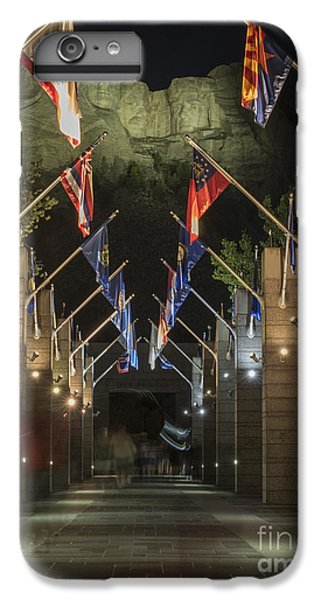 Avenue Of Flags IPhone 6 Plus Case by Juli Scalzi