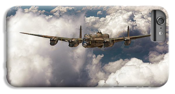 IPhone 6 Plus Case featuring the photograph Avro Lancaster Above Clouds by Gary Eason
