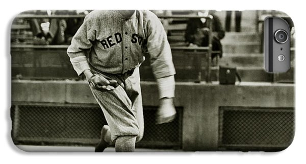 Babe Ruth Pitching IPhone 6 Plus Case