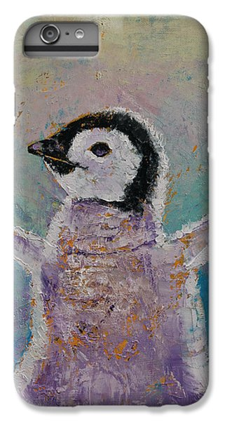 Baby Penguin IPhone 6 Plus Case by Michael Creese