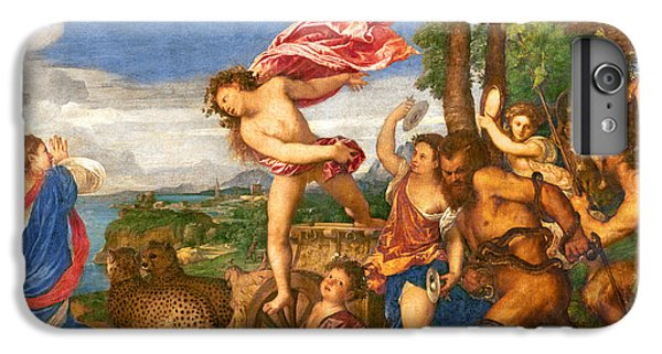 Bacchus And Ariadne IPhone 6 Plus Case by Titian