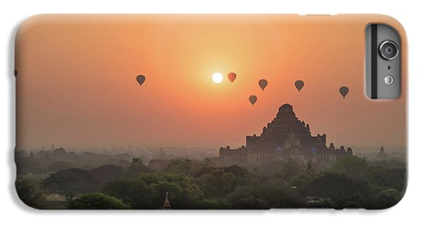 Burmese Python iPhone 6 Plus Case - Bagan Temple by Delphimages Photo Creations