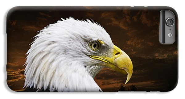 Bald Eagle - Freedom And Hope - Artist Cris Hayes IPhone 6 Plus Case by Cris Hayes