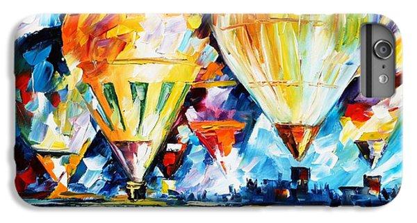 Afremov iPhone 6 Plus Case - Balloon Festival New by Leonid Afremov