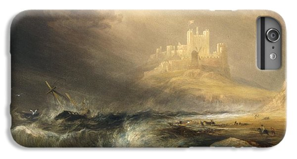Bamborough Castle IPhone 6 Plus Case by Willliam Andrews Nesfield