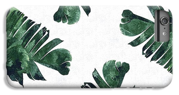 Banan Leaf Watercolor IPhone 6 Plus Case