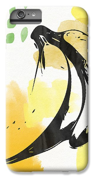 Fruit iPhone 6 Plus Case - Bananas- Art By Linda Woods by Linda Woods