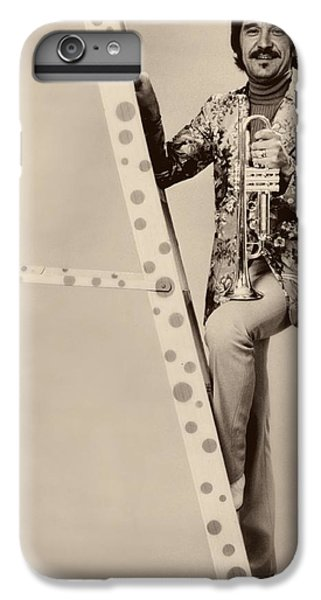 Band Leader Doc Serverinsen 1974 IPhone 6 Plus Case by Mountain Dreams