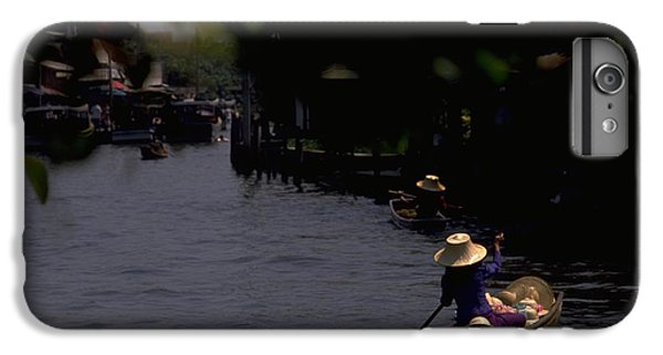 Bangkok Floating Market IPhone 6 Plus Case by Travel Pics