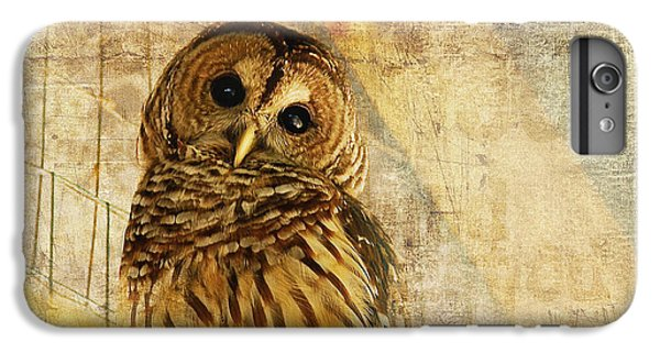 Owl iPhone 6 Plus Case - Barred Owl by Lois Bryan