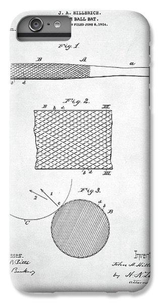 Baseball Bat Patent IPhone 6 Plus Case