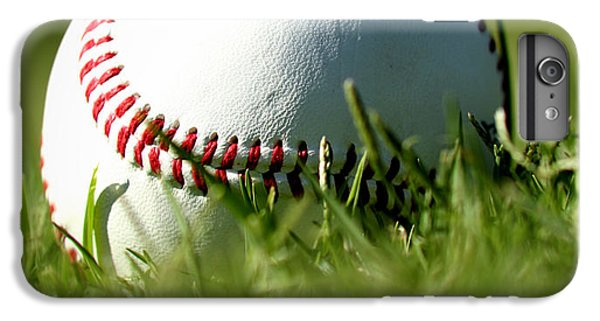 Baseball In Grass IPhone 6 Plus Case by Chris Brannen
