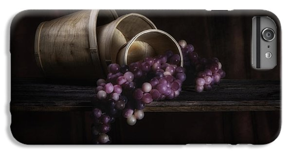 Basket Of Grapes Still Life IPhone 6 Plus Case by Tom Mc Nemar