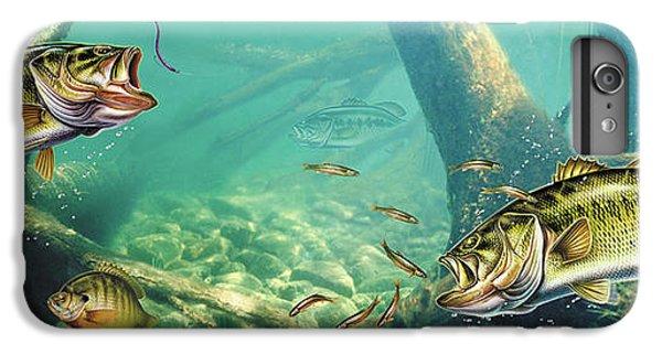 Largemouth Bass iPhone 6 Plus Case - Bass Lake by JQ Licensing
