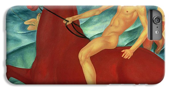 Bathing Of The Red Horse IPhone 6 Plus Case by Kuzma Sergeevich Petrov-Vodkin