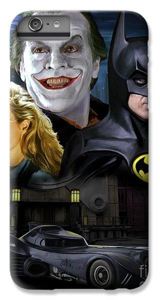 Jack Nicholson iPhone 6 Plus Case - Batman 1989 by Paul Tagliamonte