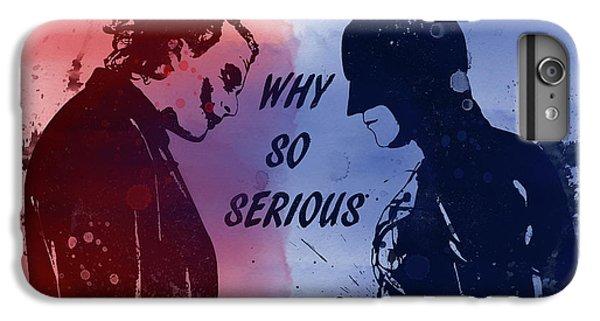Batman And Joker IPhone 6 Plus Case