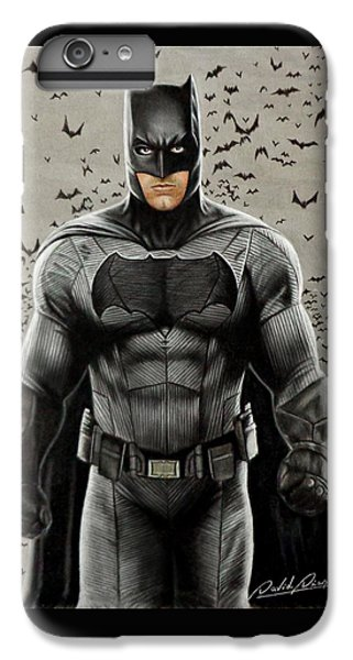 Batman Ben Affleck IPhone 6 Plus Case by David Dias