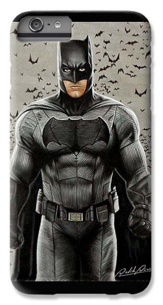 Batman Ben Affleck IPhone 6 Plus Case by David Dias