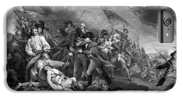 Battle Of Bunker Hill IPhone 6 Plus Case by War Is Hell Store