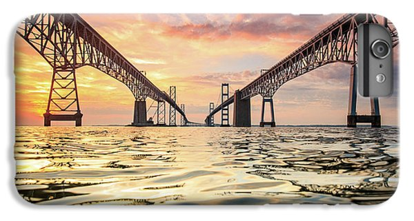 Architecture iPhone 6 Plus Case - Bay Bridge Impression by Jennifer Casey