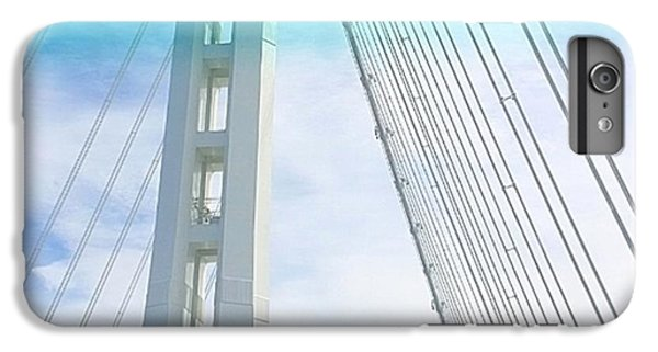 Architecture iPhone 6 Plus Case - Bay #bridge Section. Love The Aqua Tint by Shari Warren
