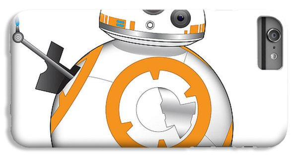 Han Solo iPhone 6 Plus Case - Bb-8 by Nathan Shegrud