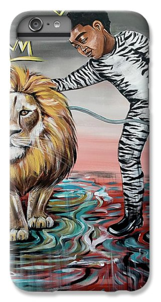 iPhone 6 Plus Case - Be Courageous My Son by Artist RiA