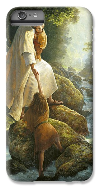 Christ iPhone 6 Plus Case - Be Not Afraid by Greg Olsen