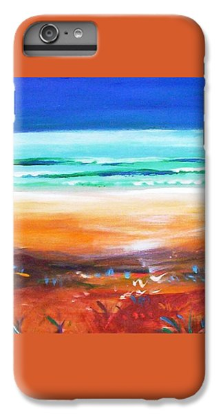IPhone 6 Plus Case featuring the painting Beach Joy by Winsome Gunning