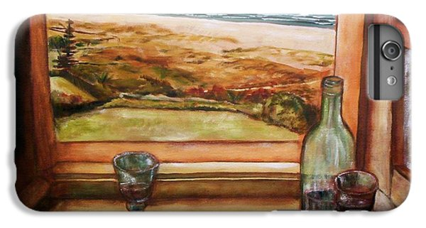 IPhone 6 Plus Case featuring the painting Beach Window by Winsome Gunning