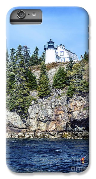 Bear Island Lighthouse IPhone 6 Plus Case by Anthony Baatz