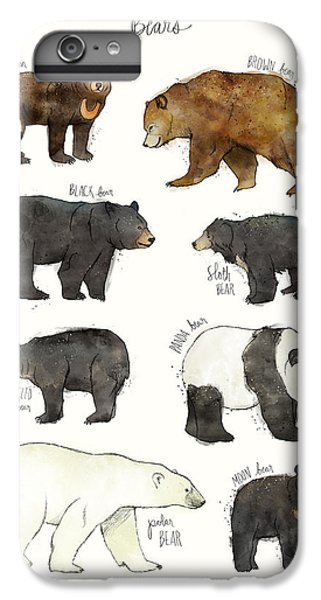 Nature iPhone 6 Plus Case - Bears by Amy Hamilton