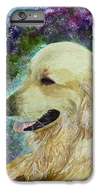 IPhone 6 Plus Case featuring the painting Beautiful Golden by Claire Bull