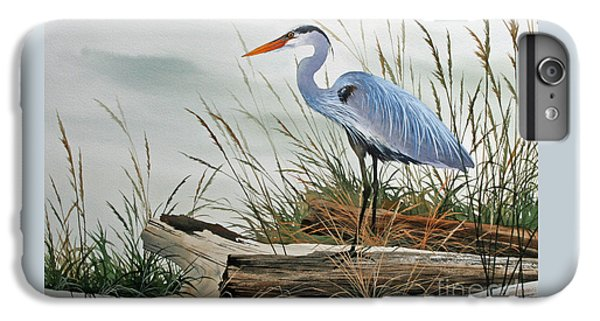 Beautiful Heron Shore IPhone 6 Plus Case