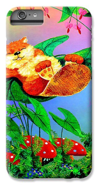 Beaver Bedtime IPhone 6 Plus Case by Hanne Lore Koehler